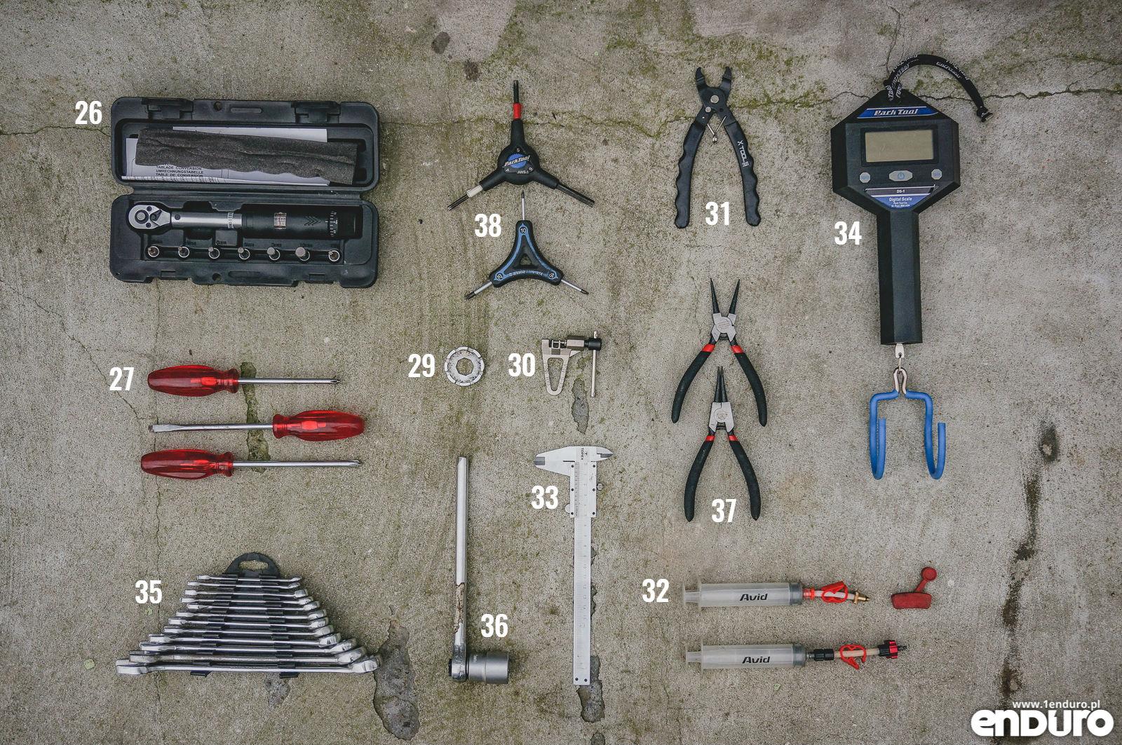 bbe43568a4d93c Narzędzia rowerowe, które warto mieć w domowym warsztacie : 1Enduro
