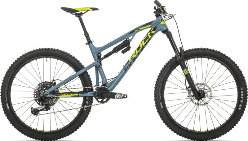 Rower enduro do 13000 zł: Rock Machine Blizzard 90-27 2018