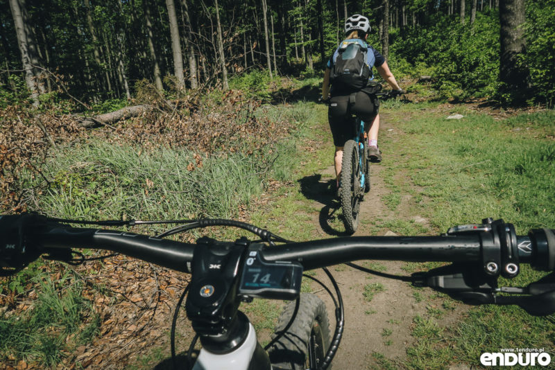 Test Shimano STEPS E8000 - e-bike Romet ERE 501
