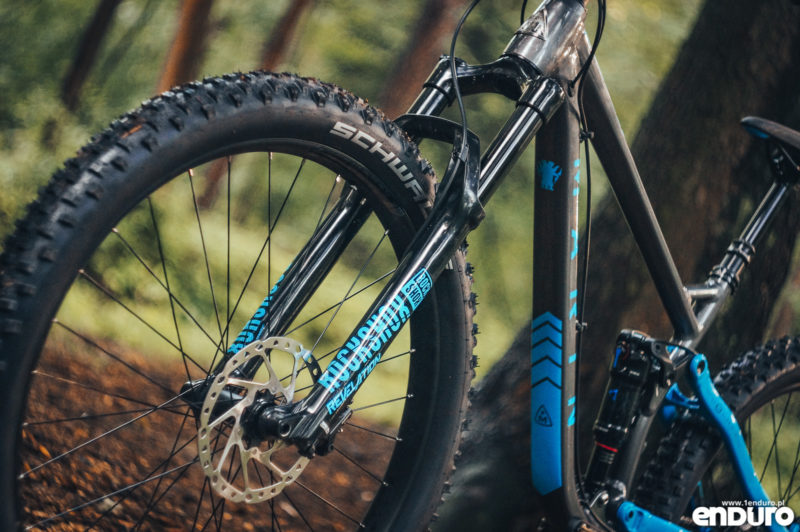 Marin B-17 2 2018 - widelec Rock Shox Revelation RC