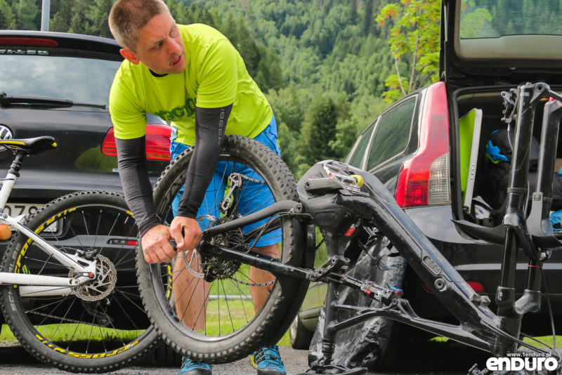 Transalp - relacja, rower, pakowanie, porady praktyczne
