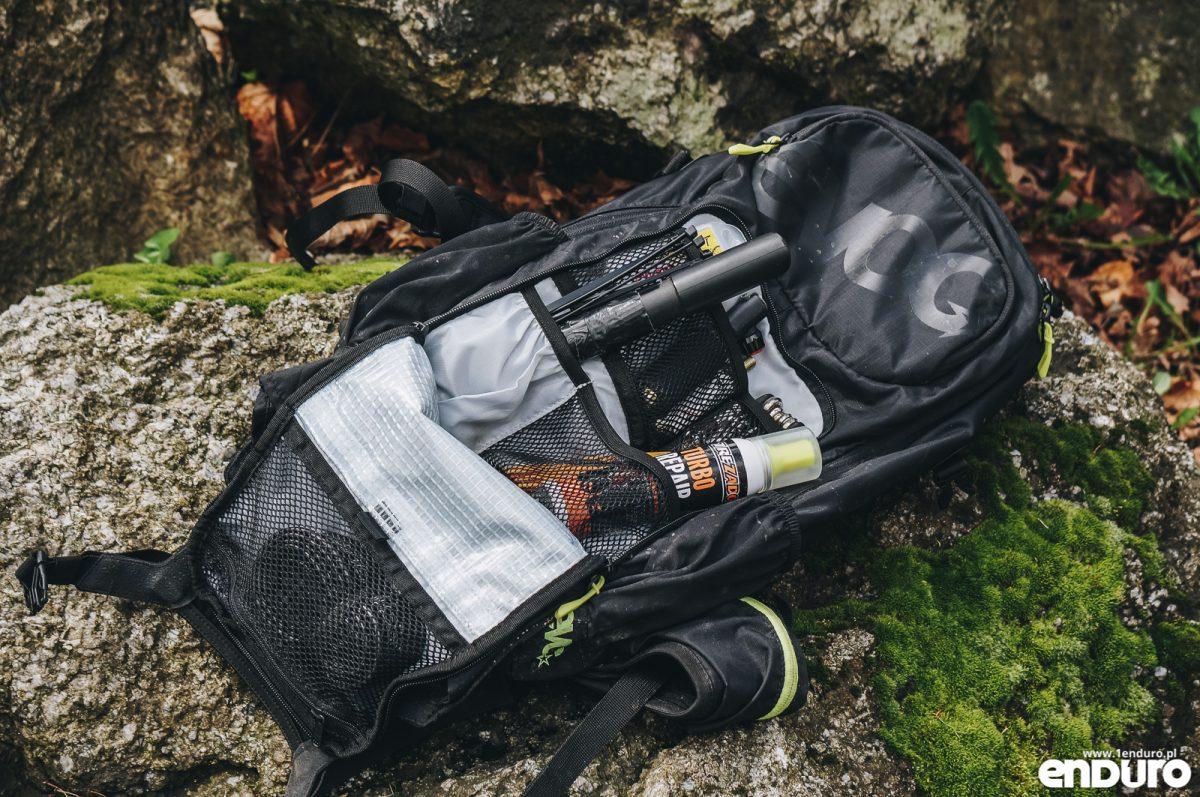EVOC FR Enduro Blackline 16l - test plecaka