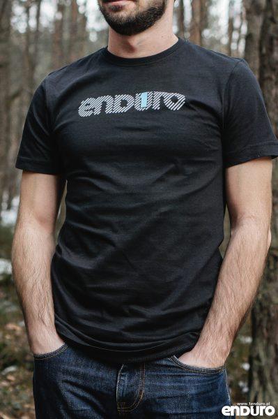 T-shirt 1Enduro Czarny