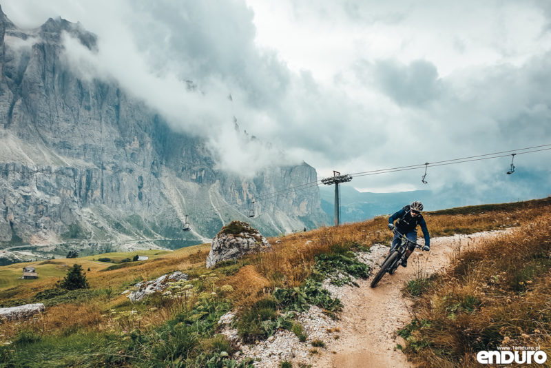 Canazei Val di Fassa enduro MTB