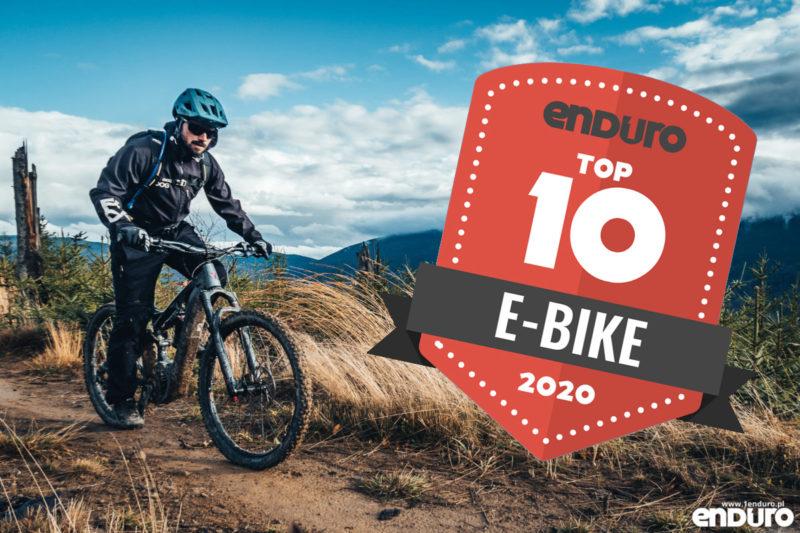 Top 10 2020: Rowery elektryczne, e-bike enduro / trail do 25000 zł