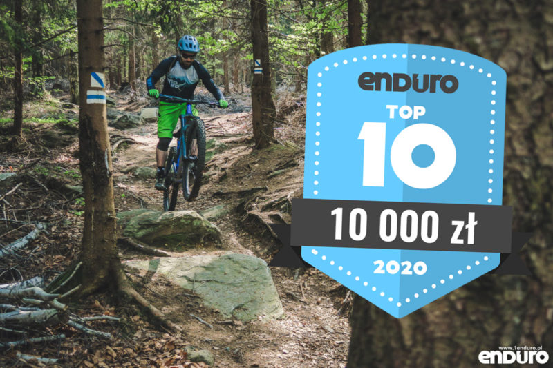 Top 10: Rowery enduro / trail (full suspension i hardtail) do 10000 zł