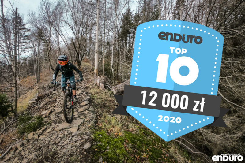 Top 10: Rowery enduro / trail (full suspension i hardtail) do 12000 zł