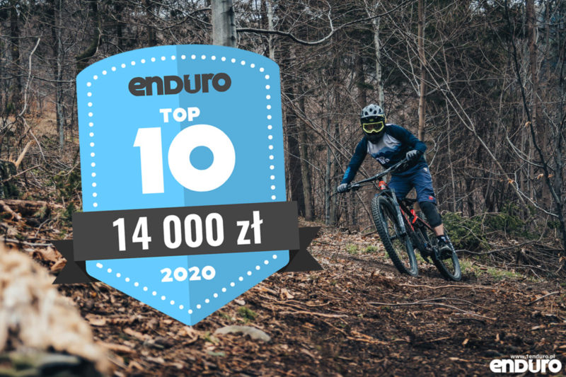 Top 10: Rowery enduro / trail (full suspension i hardtail) do 14000 zł