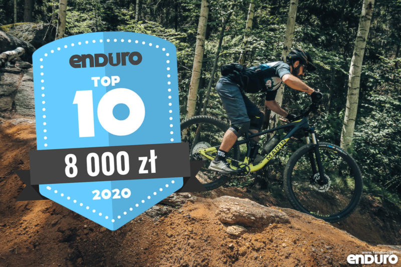 Top 10: Rowery enduro / trail (full suspension i hardtail) do 8000 zł