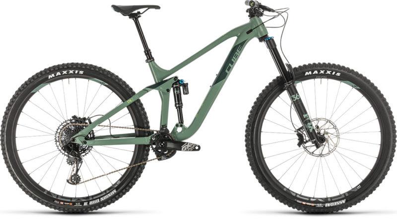 Cube Stereo 170 Race 29 2020 - rower enduro do 14000 zł