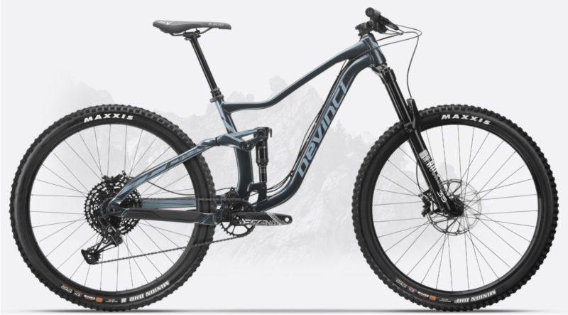 Devinci Troy 27 NX 2020 - rower trail do 12000 zł