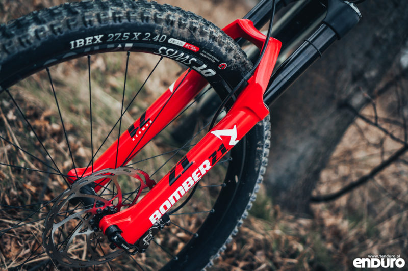 Marzocchi Bomber Z1 Air 2020 - test