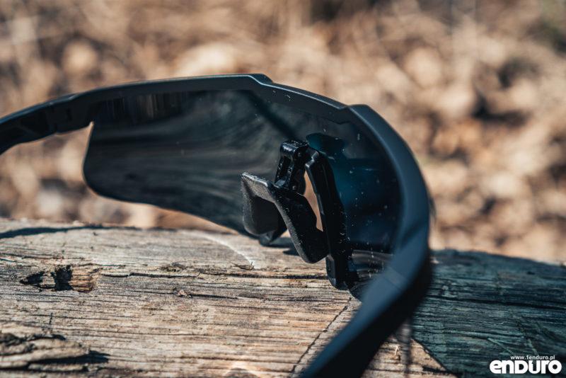 Gogle na rower Tripout Optics TRX, okulary Endo