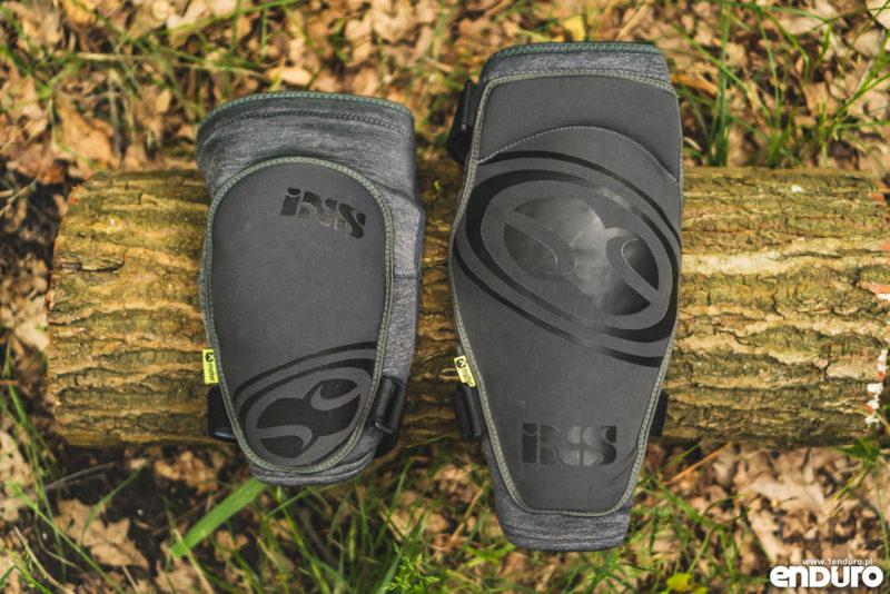 Ochraniacze na kolana iXS Flow kontra Carve - porównanie