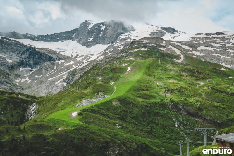 Transalp MTB Tuxerjoch Route