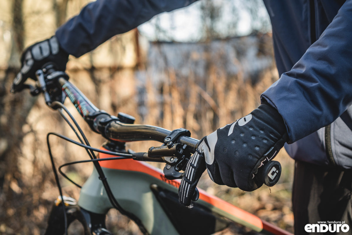 Rękawiczki zimowe Ride 100% Brisker - test