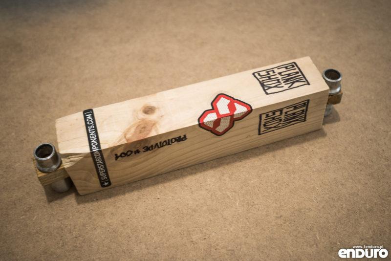 PlankShox - drewniany damper