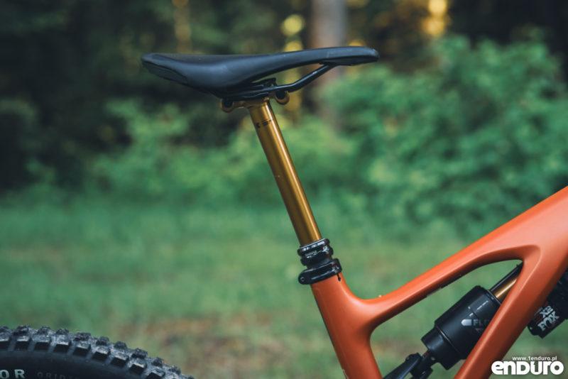 Wybór rozmiaru ramy enduro MTB - długość rury podsiodłowej